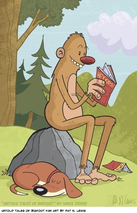Untold Tales of Bigfoot fan art by Pat N. Lewis