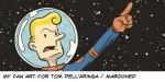Marooned fan art by Vince Dorse
