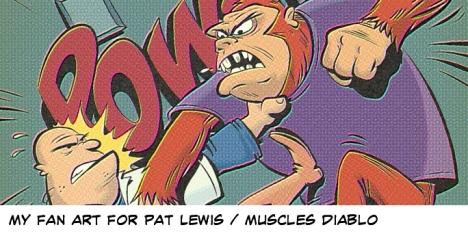 Muscles Diablo fan art by Vince Dorse