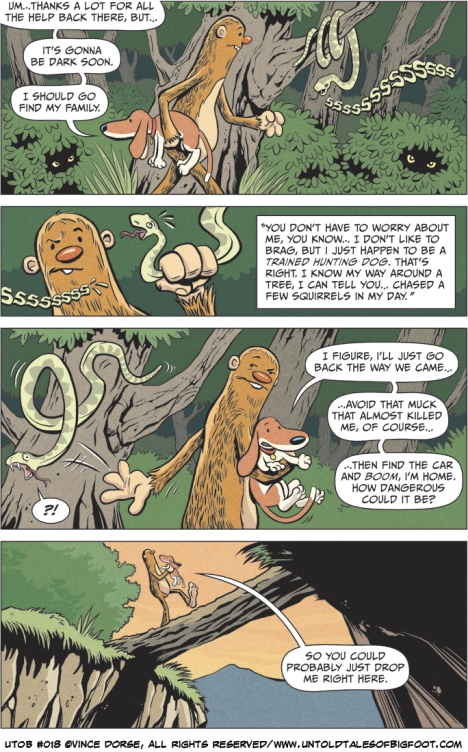 Untold Tales of Bigfoot: Crossing Paths page 018