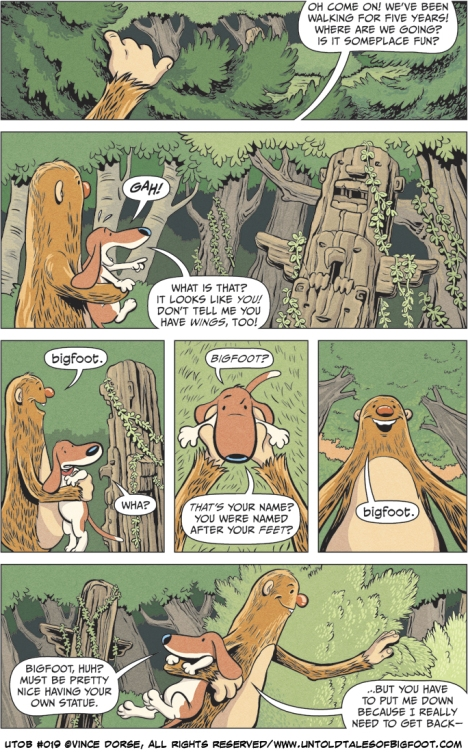 Untold Tales of Bigfoot: Crossing Paths page 019