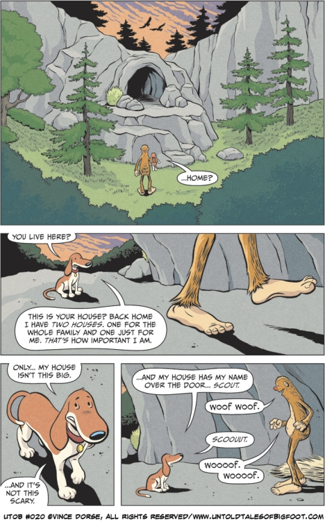 Untold Tales of Bigfoot : Crossing Paths page 020