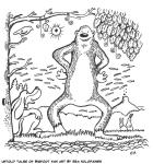 Untold Tales of Bigfoot fan art by Esa Holopainen