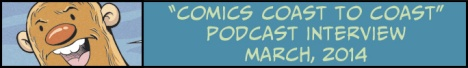 Comics Coast To Coast Podcast Interview