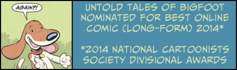 Second Reuben Nomination for Untold Tales of Bigfoot!