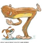 Untold Tales of Bigfoot fan art by James Anderson