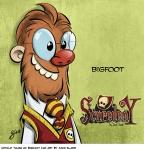 Untold Tales of Bigfoot fan art by Jack Slade