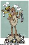 Untold Tales of BIgfoot fan art by Joshua Hauke
