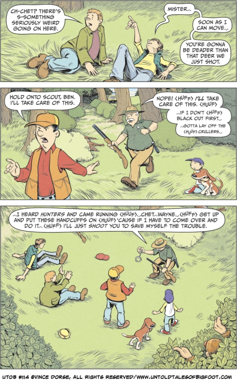 Untold Tales of Bigfoot: Crossing Paths page 114