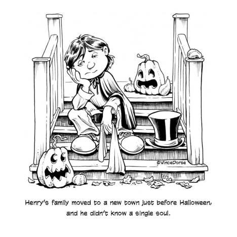 Wish On A Halloween Moon, page 001