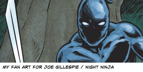 Night Ninja Fan Art by Vince Dorse