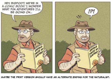 The Naturalist reads UTOB