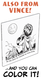 Buy Wish On A Halloween Moon, an inky story for October!
