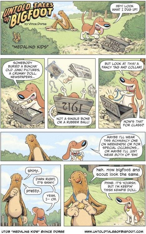 "Untold Tales of Bigfoot ""Medaling Kids"""