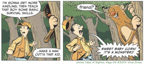 Untold Tales of Bigfoot