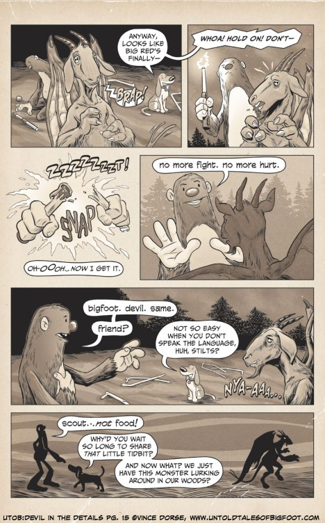 Untold Tales of Bigfoot: Devil In The Details