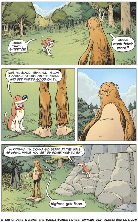 Untold Tales of Bigfoot: Ghosts and Monsters page 2004