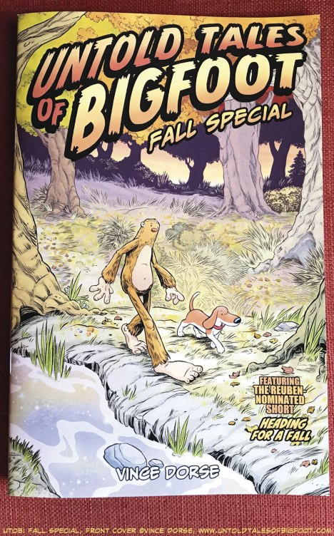 Untold Tales of Bigfoot: Fall Special