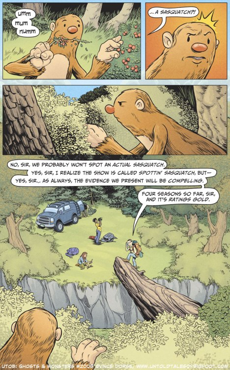 Untold Tales of Bigfoot: Ghosts and Monsters page 2008