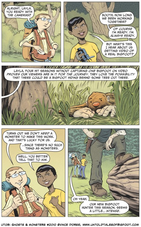 Untold Tales of Bigfoot: Ghosts and Monsters page 2010