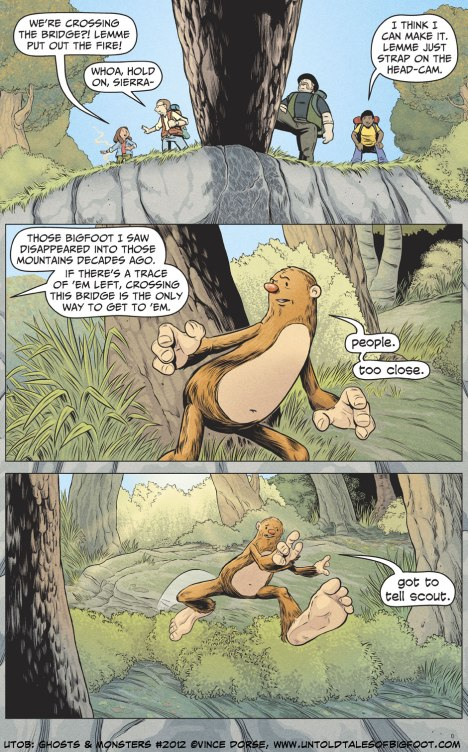 Untold Tales of Bigfoot: Ghosts and Monsters page 2012