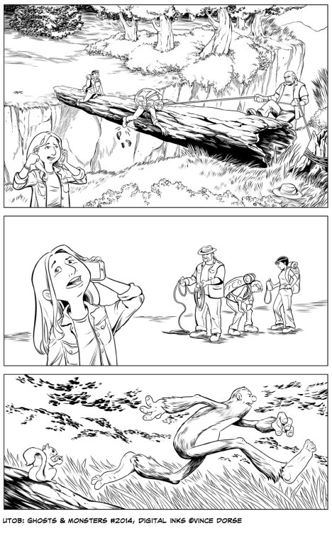 Untold Tales of Bigfoot: Ghosts and Monsters page 2014