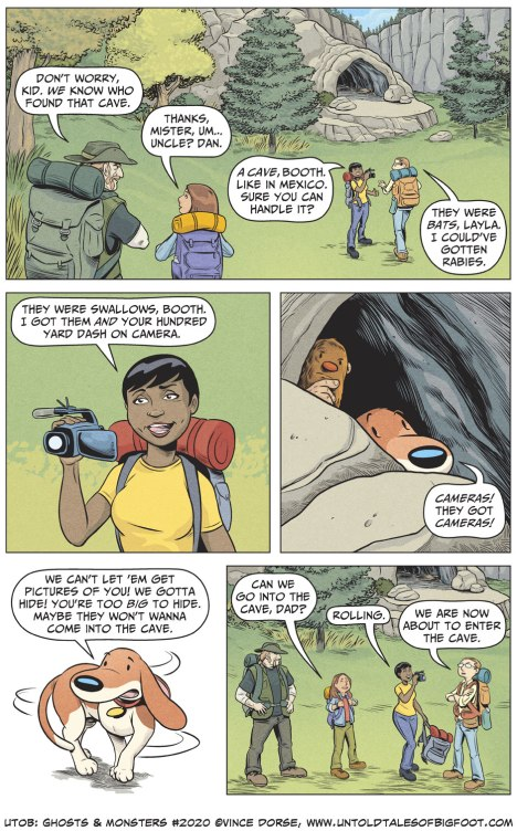 Untold Tales of Bigfoot: Ghosts and Monsters page 2020