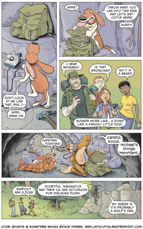 Untold Tales of Bigfoot: Ghosts and Monsters page 2022