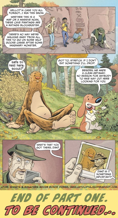 Untold Tales of Bigfoot: Ghosts and Monsters page 2028